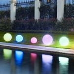Leuchtkugeln / Schwimmleuchtkugeln mit Akku 50 cm